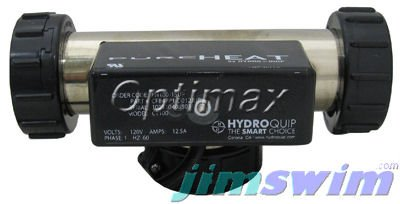 Hydro Quip Bath Heater, T Style, PH100-15UP, 115v, 1.5kW,...