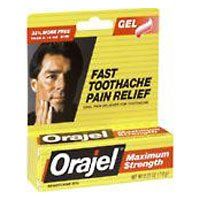 Orajel Toothache Pain Relief - Orajel Size .42z Orajel Maximum Strength Toothach Relief