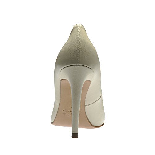 Evita Shoes - Zapatos de vestir de Piel para mujer Hueso - Cremeweiß