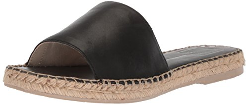 Dolce Slide Black Sandal Leather Vita Bobbi Women's Attrq