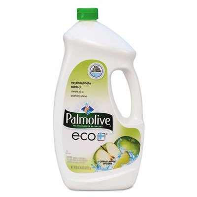 Palmolive 42707 eco+ Dishwashing Liquid, Citrus Apple Scent, 2.3 qt Bottle (Case of 6) by Palmolive