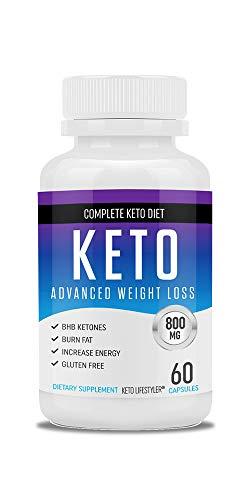 Balance Weight Loss - Shark Tank Keto Pills - Fat Burner for Women and Men - Block Carbs - Weight Loss Supplement Developed to Balance a Ketogenic Diet - 60 Capsules