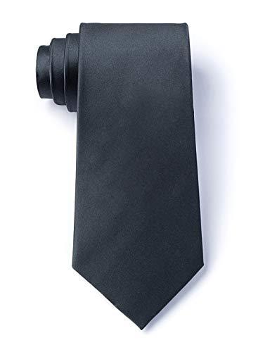 Elite Solid's Silk Handmade Wedding Tie Mens + Boys Necktie