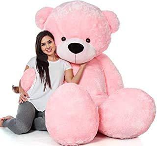 5 Feet Jumbo Cute Pink Teddy Bear  152 cm