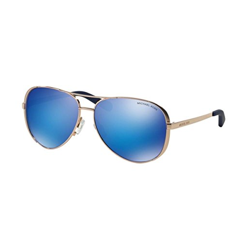 Michael Kors MK5004 Chelsea Sunglasses, Rose - Aviators Kors Michael