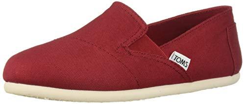 - TOMS Women's Redondo Loafer Flat red oxford 7.5 B Medium US