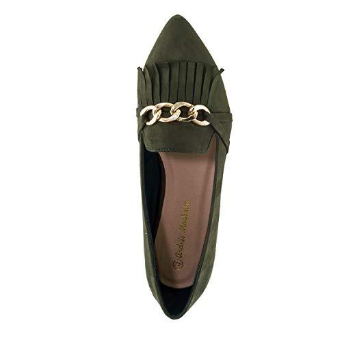 Pour 42 Petites 45 Machado Et En 32 35 am5304 Femmes Pointures Andres Daim slipper Olive Grandes qXwxBOO0