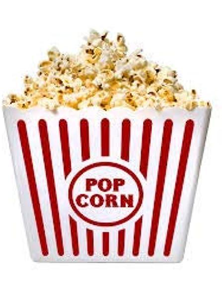 2 Jumbo Movie Night Popcorn Tubs Plastic