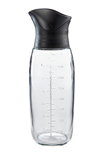 The World's Greatest Store'N Pour Oil Bottle, BPA Free, 13.5-Ounce Capacity (Salad Dressing Bottle)