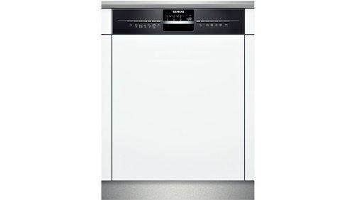 Siemens: Geschirrspüler 60cm Integrierbar   Schwarz SX56N656CH