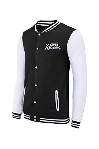 TRIFUNESS Unisex Riverdale Jacket -Southside Serpents Varsity Jacket Long Sleeves