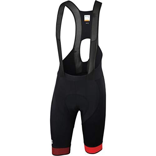 Sportful Bodyfit Pro 2.0 LTD Bib Short - Men's Black/Red, L