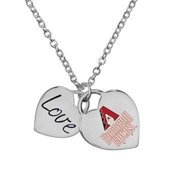 (Arizona Diamondbacks Officially Licensed Heart Necklace)