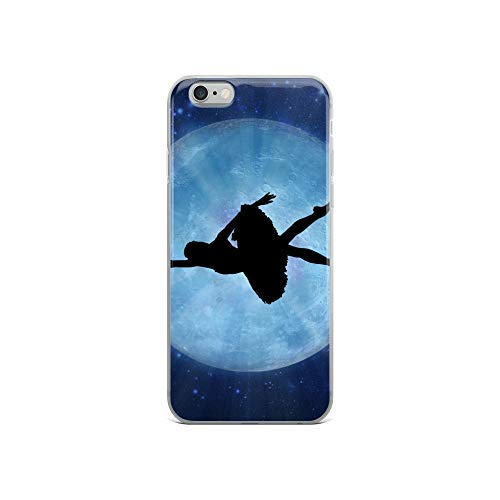 iPhone 6/6s Case Anti-Scratch Phantasy Imagination Transparent Cases Cover The Ballet Dancer Fantasy Dream Crystal Clear ()