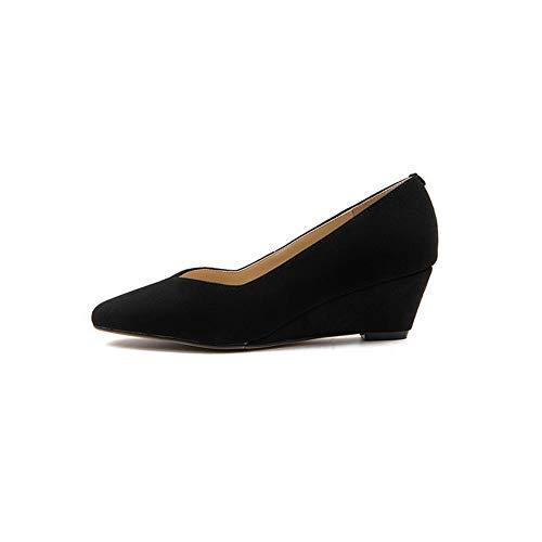 Mms06593 Uretano Viaje Zapatos 1to9 De Mujer Negro Sólidos Para CgBwIdIxq