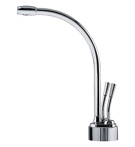 Franke Logik Little Butler Deck Mount Hot and Cold Water Dispenser LB9280C Satin Nickel