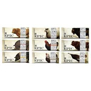 Epic - Epic Bars Variety Pack, 9 Flavors 2 of each (18 Pack)