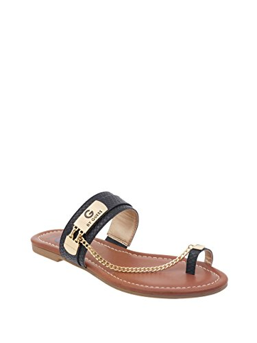 Strap Guess Ladies (G by GUESS Loren Toe Strap Chain Sandals)