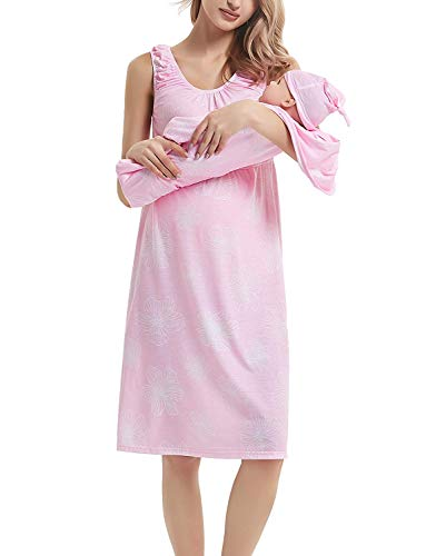 Yummy Eletina Pregnant/Nursing Robe with Baby Blanket and Hat SetHospital Bag Essentials