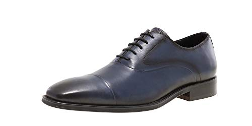 Jump Newyork Marshall Cap Toe Dress Oxford Navy 11 D US Men