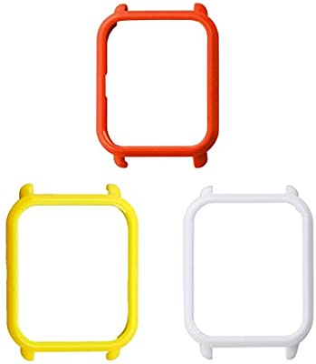 UKCOCO Funda Amazfit Bip, 3 Piezas de plástico Duro Funda para ...