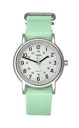 Timex Classics Weekender™ Slip Thru Women's watch #T2P073 (Timex Watch 16mm Weekender Strap)
