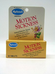 Hylands Motion Sickness 50 Tabs - Hyland's - Motion Sickness, 50 tablets