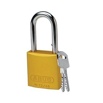 Brady 99618, amarillo aluminio candado, (Pack de 10 unidades): Amazon.es: Amazon.es