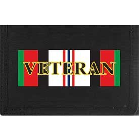 Enduring Freedom Direct Embroidered Trifold Wallet by Military Trifold Direct Embroidered Wallets