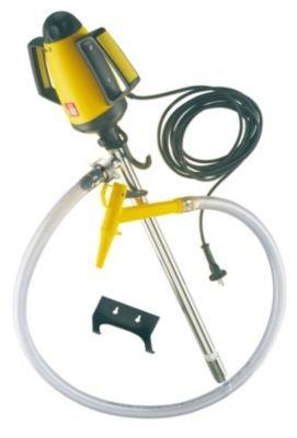Lutz Behälterpumpen-Set, elektrische Pumpe inkl. Zubehör - Pumpwerk aus Niro (rostfreier Stahl) Tauchtiefe 1000 mm - Behälterpumpe Behälterpumpen Elektrische Pumpe Elektrische Pumpen Fasspumpe Fasspumpen Pumpe Pumpen