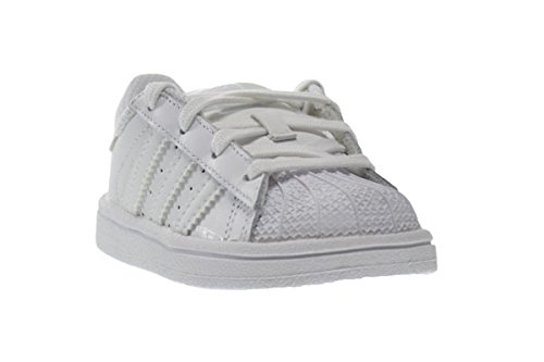 7 M US Adidas Superstar Foundation I Baby Toddlers Shoes Running White Ftw b23663