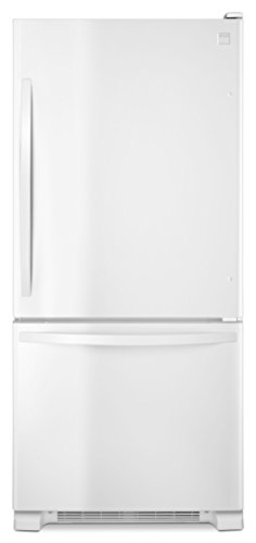 Kenmore 79312 19 cu. ft. Bottom Freezer Refrigerator in White, includes delivery and hookup