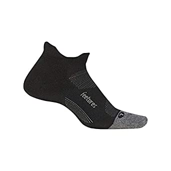 Feetures Unisex Elite Max Cushion No Show Tab Athletic Running Socks