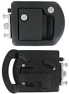 Trimark Entrance Door Lock, Black 060-1650 (Lock Key Trimark)