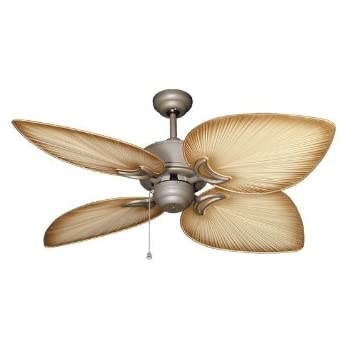 tropical ceiling fans with light lowes fan antique bronze tan blades home depot