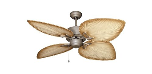 antique bronze fan - 5