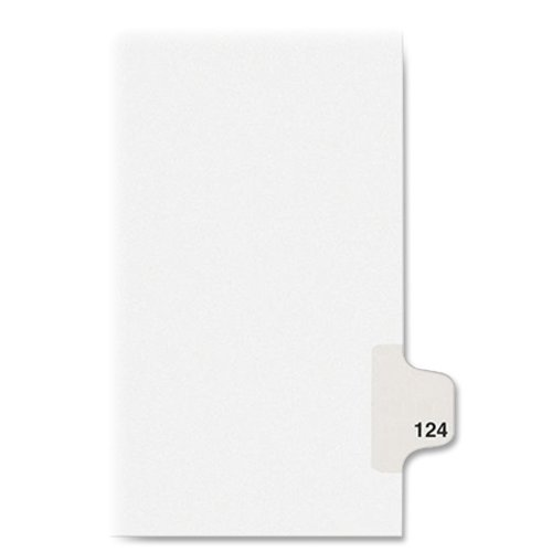 UPC 072782011246, Avery Individual Legal Dividers, Letter Size, #124, 25 Pack (01124)