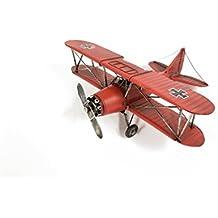 Red Bi-Plane with Black Cross
