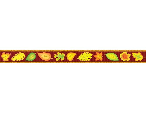 Teacher Created Resources Fall Straight Border Trim, Multi Color (4693) -