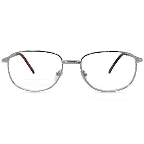 (In Style Eyes Timeless Bifocal Reading Glasses (Silver 1.50))