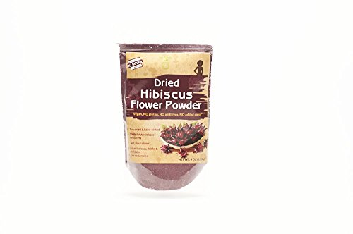 Iya Foods Dried Hibiscus Flower Powder 4oz 1 Pack Import It All