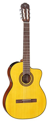 Takamine G Series GC3CE-NAT Acoustic-Electric Classical Cutaway Guitar, Natural