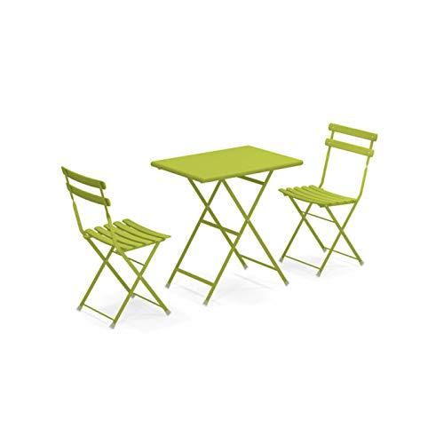 Tavoli Da Giardino Emu.Emu Set Da Esterno Arc En Ciel Tavolo 70x50cm 2 Sedie Giardino