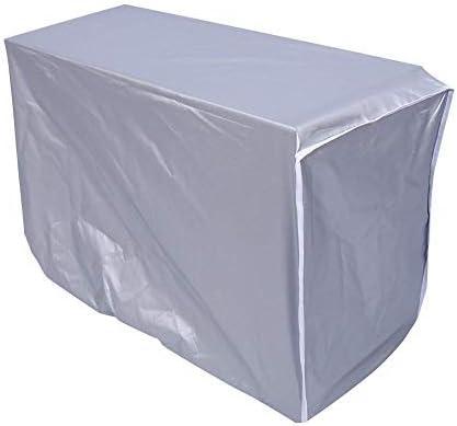 28cm 54 Faviye Klimaanlage Au/ßenabdeckung Aluminiumfolie Staubschutz wasserdicht f/ür Klimaanlage im Au/ßenbereich 78