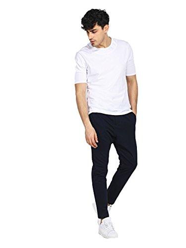 taille 40 80b4a 9d6c0 IMPERIAL - Homme pantalon tailoring pf73tpr xl noir: Amazon ...