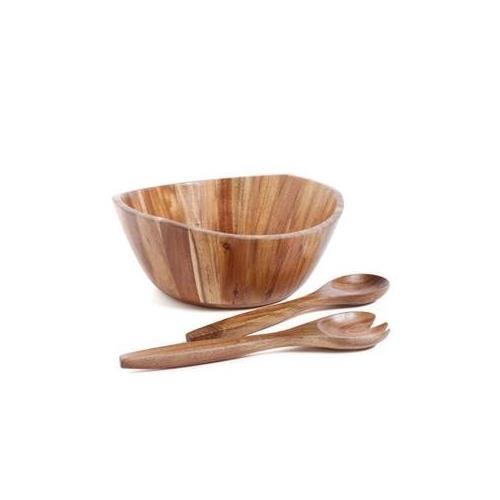 Gibson Home Natural Trends Ashville 3 Piece Acacia Wood Sala