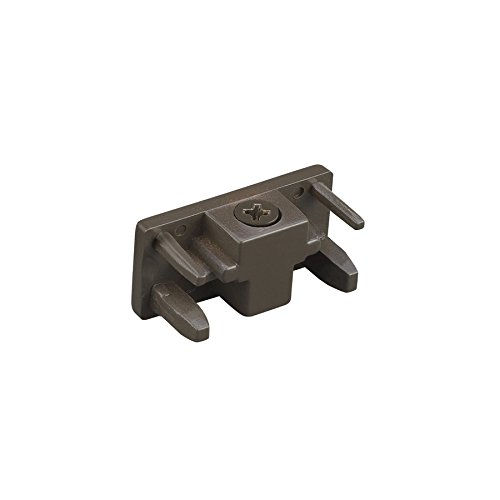 WAC Lighting H-ENDCAP-DB H Track End Cap, Dark Bronze