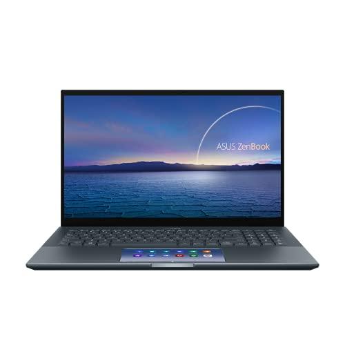 ASUS ZenBook 15 UX535LI-E2077T Core i7 10th Gen 15.6″ UHD 4K Display (16GB RAM / 1TB PCIe SSD / 15.6″ UHD 4K Display /nVidia GTX 1650Ti-4GB/Screenpad 2.0/Backlit Keyboard/Win10 Home/1.8 Kg