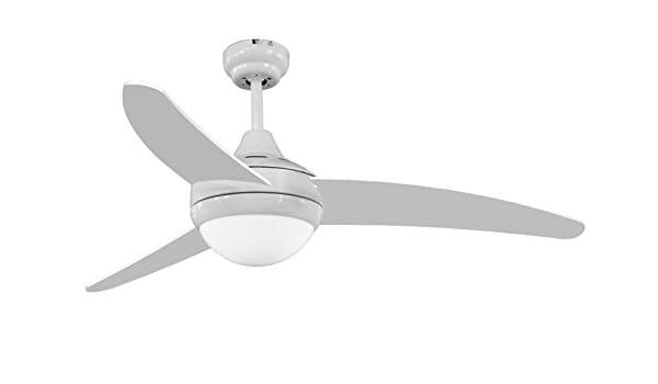 Interfan Michigan Ventilador, Blanco: Amazon.es: Iluminación