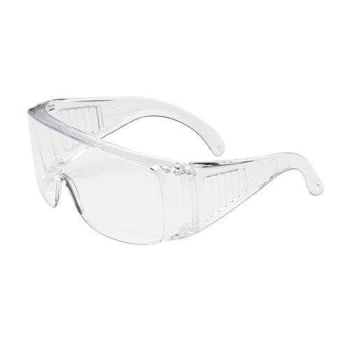 Protective Industrial Products 250-99-0980 Bouton Optical The Scout Eyewear, Visitor Spec, Clear Temple, Clear Lens, Uncoated, Clear/Clear (Pack of - Optical Temple